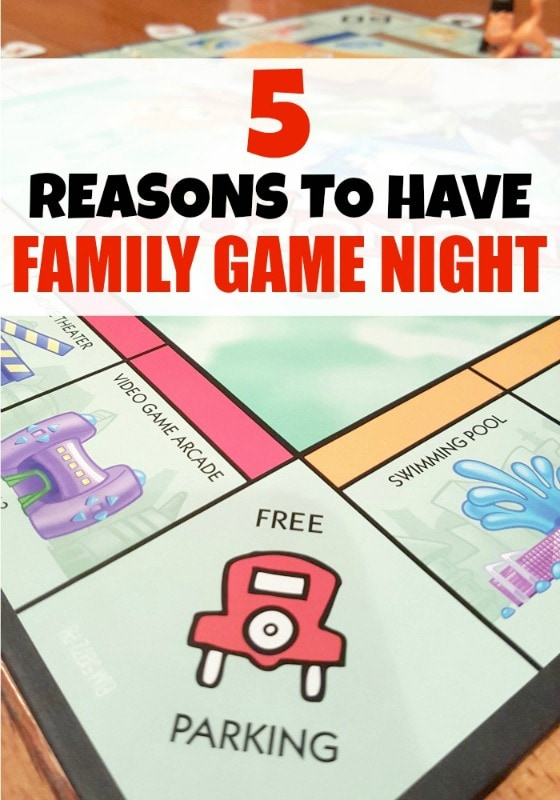 5 Reasons Why You Should Do Family Game Night