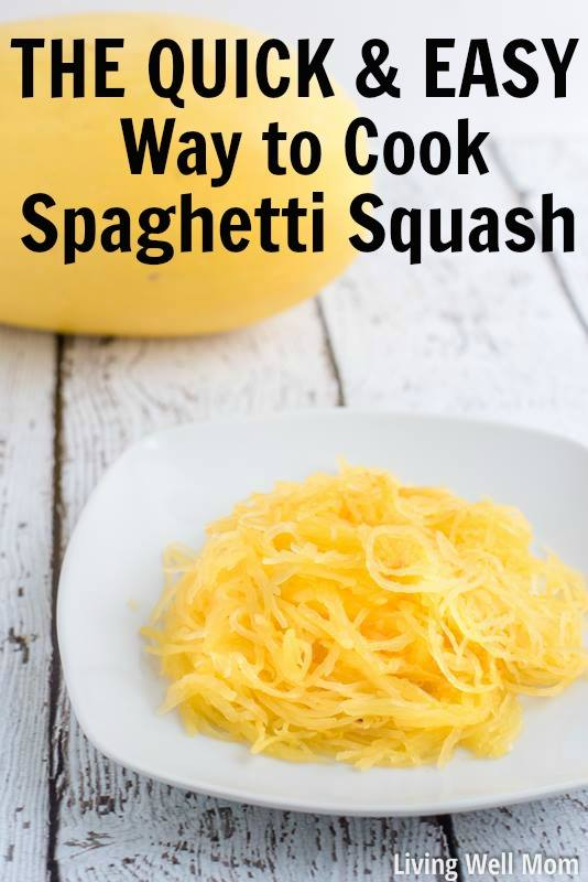 the quick and easy way to cook spaghetti squash - living