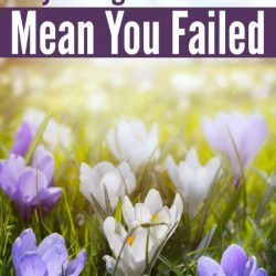 Why Change Doesn't Mean You Failed