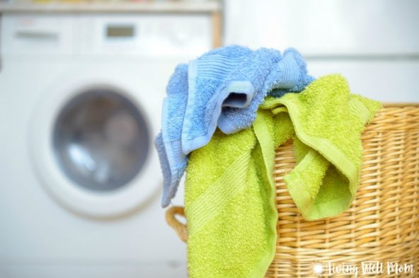 Tired of all that laundry? Moms, you should NOT be doing it all yourself. Find out why it's so important for your kids to help with the laundry.