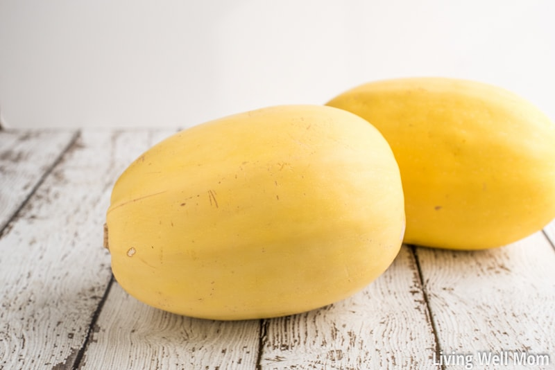"Love using spaghetti squash as a healthy pasta alternative in your cooking, but hate how long it takes to cook? Here's the quick and easy way to cook spaghetti squash that will save you time and frustration! Plus you'll get longer spaghetti ""noodles!"""
