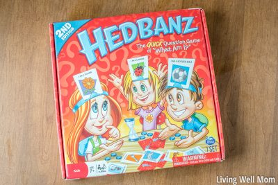 hedbanz family game night game