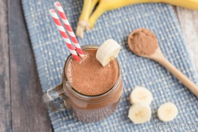 chunky monkey paleo smoothie recipe