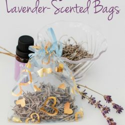 Easy DIY Lavender-Scented Bags