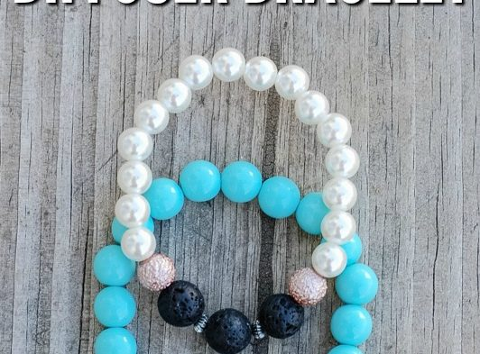 Love essential oils? Here's how to make an easy DIY Essential Oil Diffuser Bracelet and carry your favorite scent with you all day! You won't believe just how easy simple they are to make and bonus: these bracelets make perfect homemade gifts!