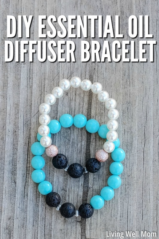 Diy essential oil diffuser bracelet for How to make scented jewelry