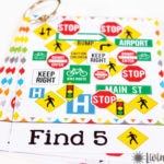 Travel I Spy for Kids {Free Printables}