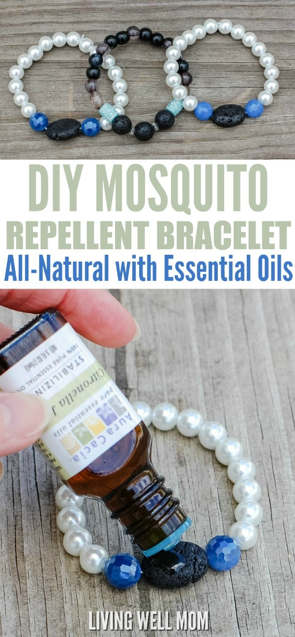 Diy Mosquito Repellent Bracelet With Essential Oils