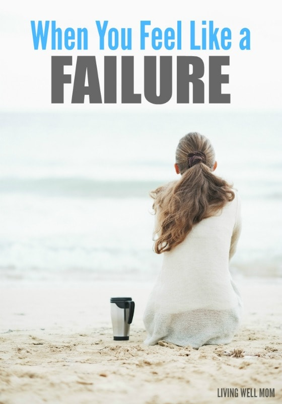 Do you ever feel like you're a failure? (Everyone does sometimes.) Here's 4 things to remember that will help change how you think. For moms especially, if you need encouragement, you'll want to read this.
