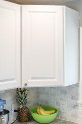 Corner Cupboard Organization in the Kitchen