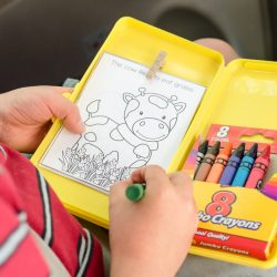 DIY Travel Coloring Kit for Kids
