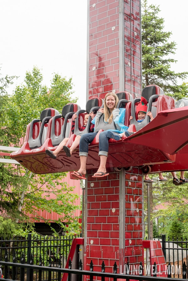 Looking for a great place to visit with your family? Here's 12 awesome reasons why you should visit Santa's Village in Jefferson, New Hampshire: A charming family theme park set in beautiful mountains, there's rides for all ages, shows, Santa himself and real live reindeer! You'll come away with family memories to cherish for years!