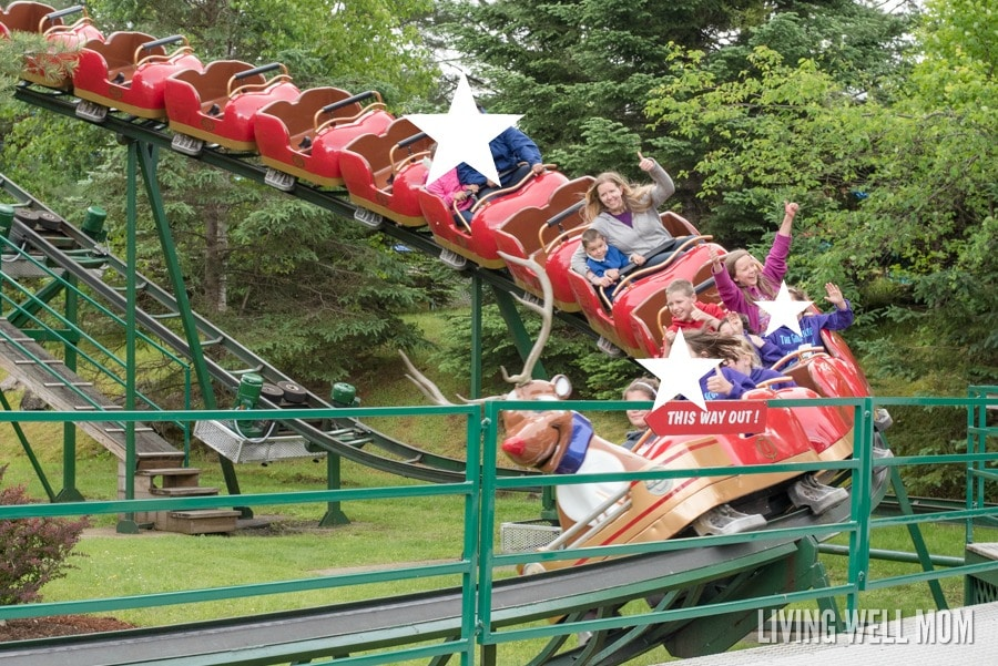 Santas Village Rudys Transit Coaster