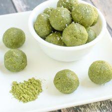 Matcha Green Tea Energy Bites