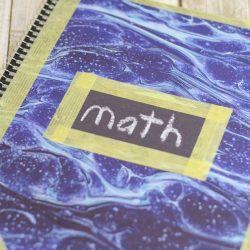 DIY Washi Tape Notebooks