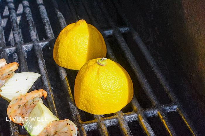 grilled lemons