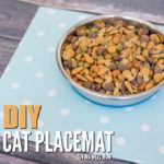 DIY Cat Placemat