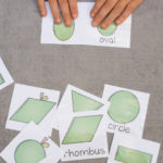 Apple Shape Matching Cards (Free Printable)