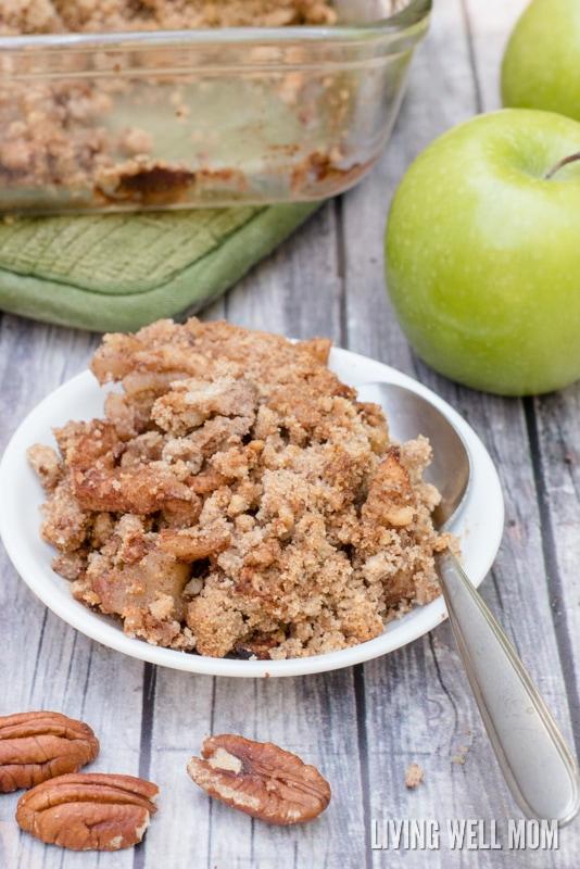 Easy Paleo Apple Crisp with No Added Sugar