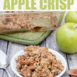 paleo sugar-free apple crisp