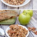healthy guilt free apple crisp