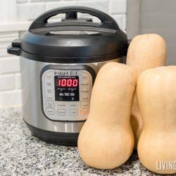 Pressure Cooker Butternut Squash