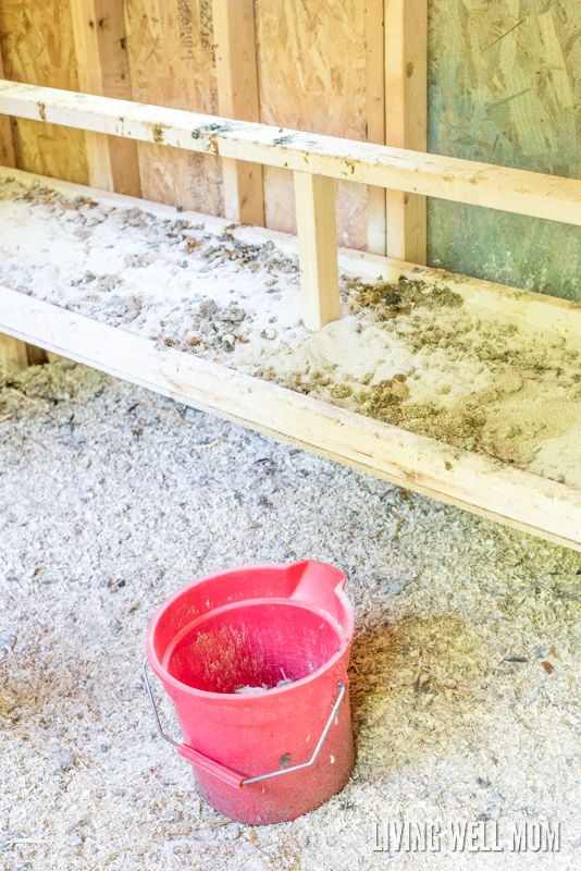 "Save time and effort with this simple dropping board concept for your chicken coop. Find out how to build it and the ""secret"" that makes it work so well!"