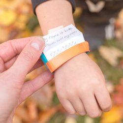 DIY ID Bracelet for Kids