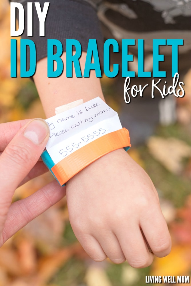 Diy Id Bracelet For Kids How To Make A Simple In