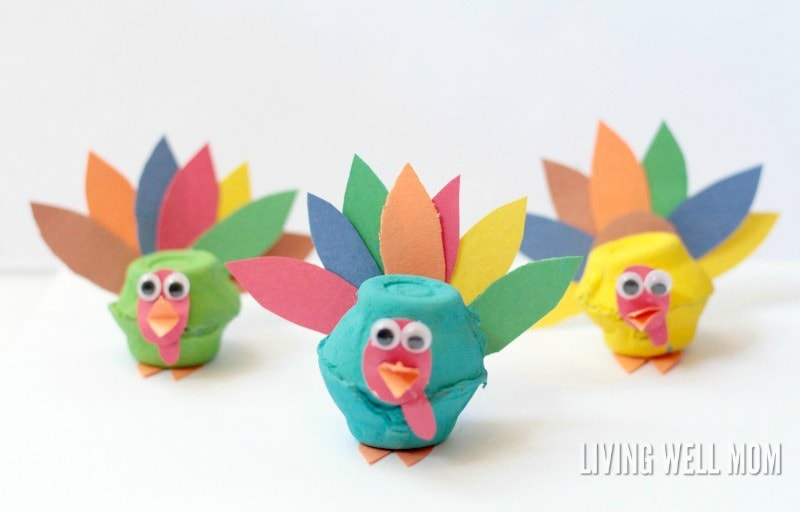 Egg Carton Crafts Part - 21: Living Well Mom