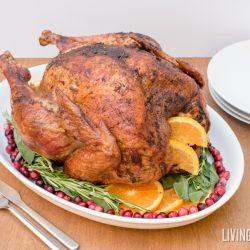 Orange Herbed Turkey with Spiced Rub
