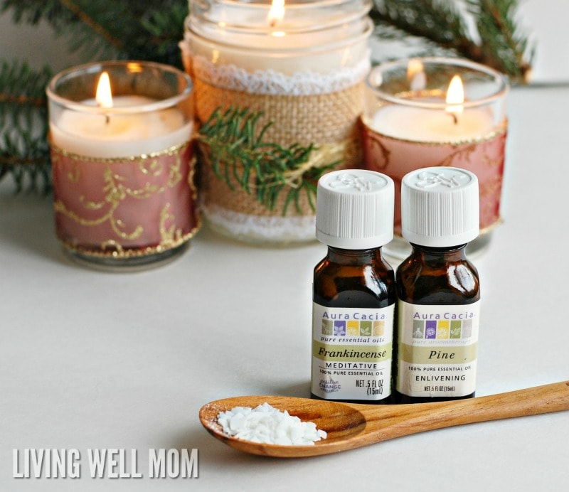 Diy christmas candles with essential oils christmas candle main 1 low res wm solutioingenieria Image collections