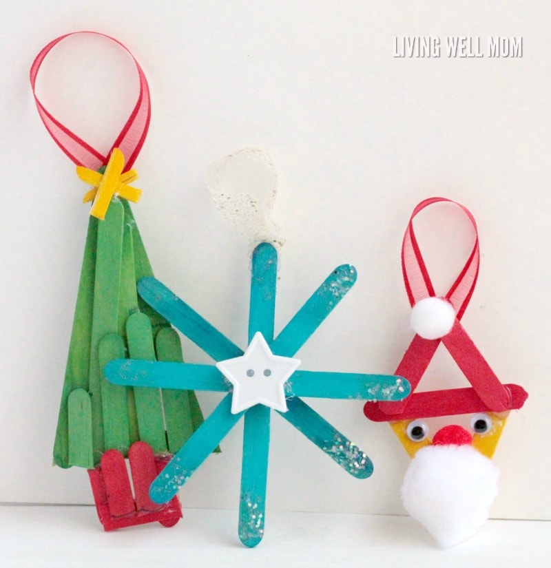 Homemade Family Christmas Ornaments