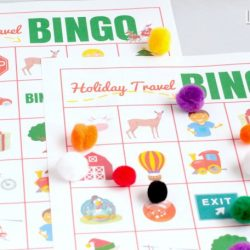 Printable Bingo Game: Holiday Travel Bingo