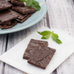 Easy Homemade Paleo Mint Dark Chocolate