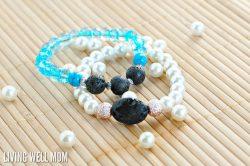DIY Essential Oil Bracelet for Cold Relief