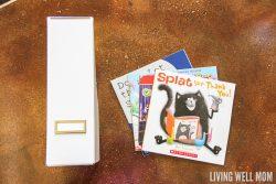 How to Organize Kids' Books