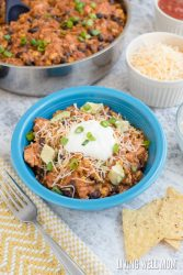 One-Pot Turkey Enchilada Casserole