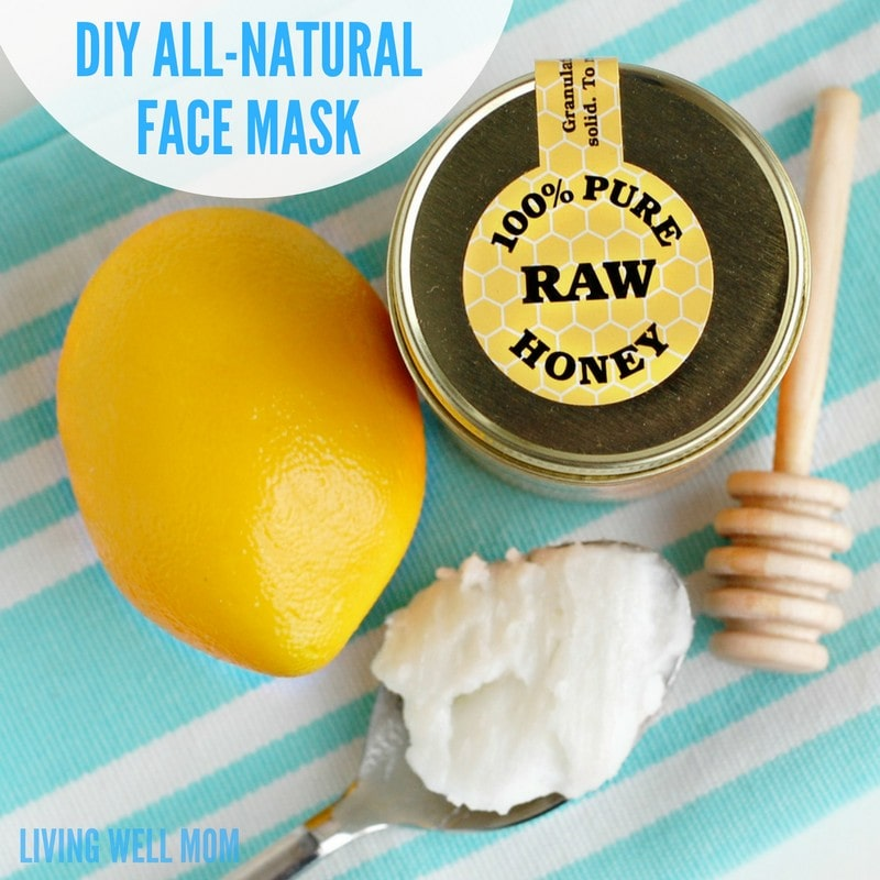 With just 3 simple all-natural ingredients, this DIY face mask will take you just 2 minutes to make and your skin will be moisturized and even glowing!