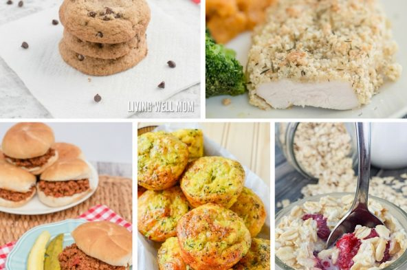 19 Kid-Approved Gluten-Free recipes - everything from breakfast to dinner, snacks to desserts, here's a fun list of foods kids love!