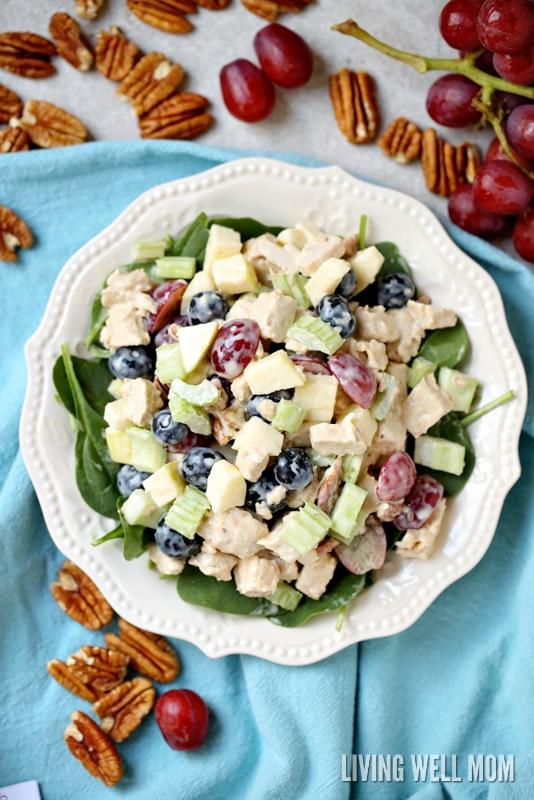Waldorf Chicken Salad Dairy Free