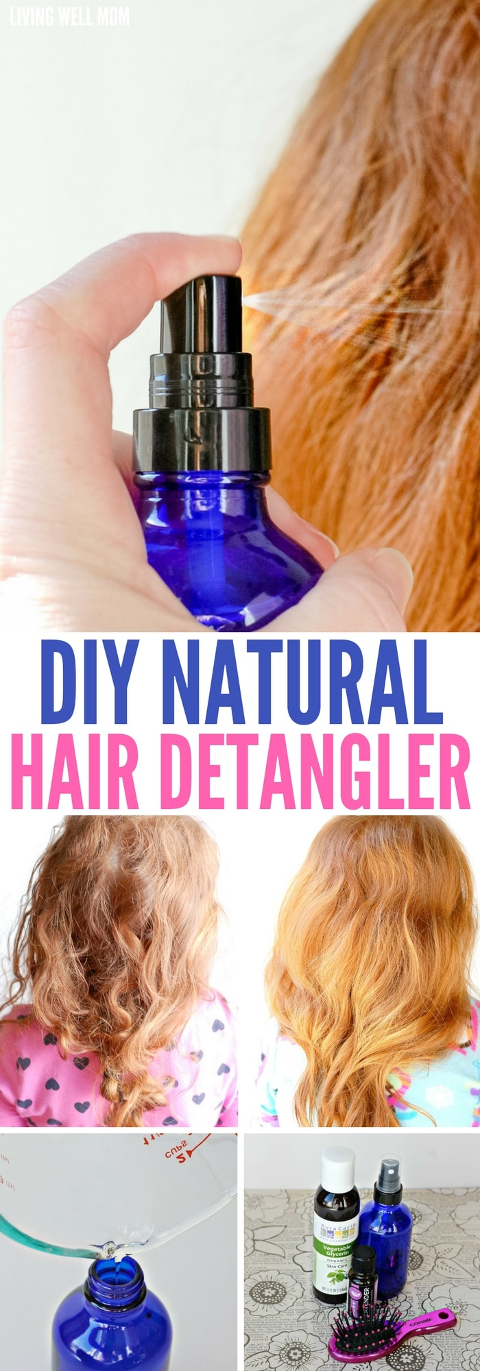 How To Make Homemade Detangler For Natural Hair