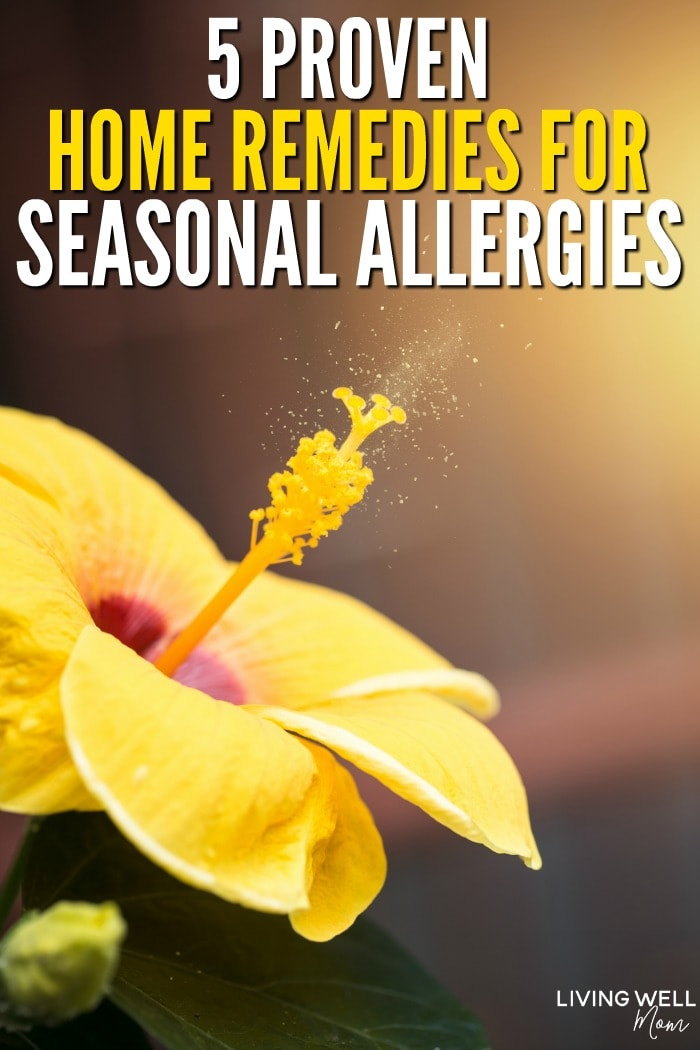 proven home remedies for seasonal allergies