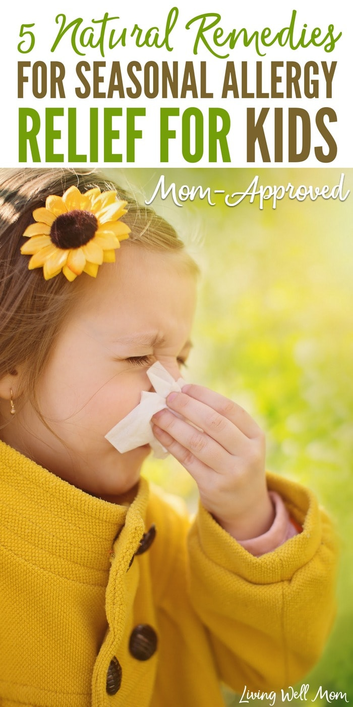 Here are 5 natural remedies for seasonal allergies that can help relieve symptoms for both adults and kids. From sneezing and congestion to itchy, watery eyes, find relief naturally through these tried-and-true mom-approved remedies.