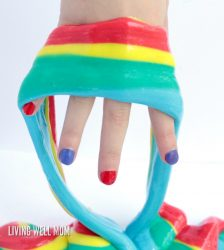 Sensory Activities for Kids: Colorful Rainbow Gak