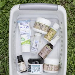 9 Ready-Made Things to Include in a Natural First Aid Kit for Kids
