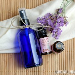 DIY Homemade Linen Spray with Essential Oils