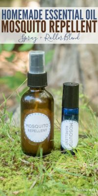 homemade essential oil mosquito repellent