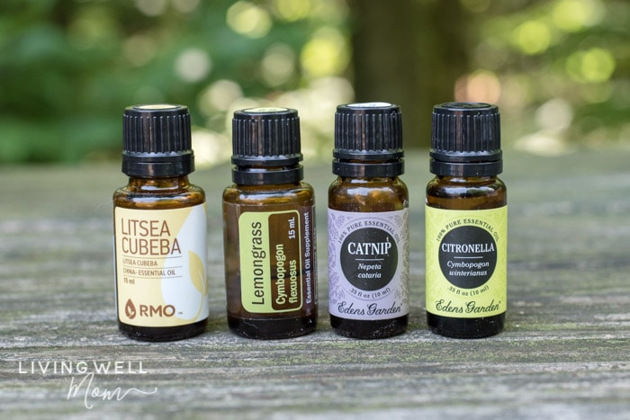 essential oils for repelling mosquitoes
