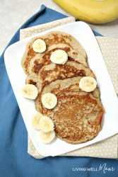 2-Ingredient Banana Pancakes (Gluten-Free, Dairy-Free, Paleo)